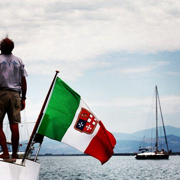 BANDIERA / FLAG       #my_marina eBook       Photo courtesy of @portodegliargonauti [http://instagram.com/portodegliargonauti]
