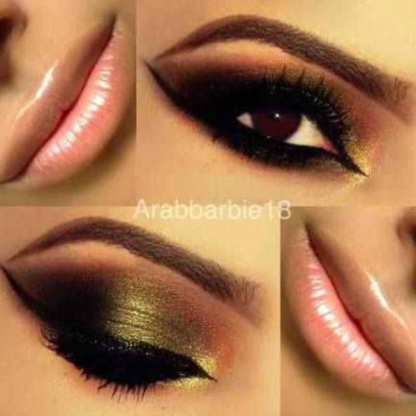 Arabic makeup.