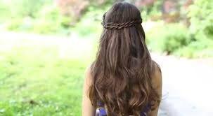 acconciatura capelli lunghi trecce - Cerca con Google
