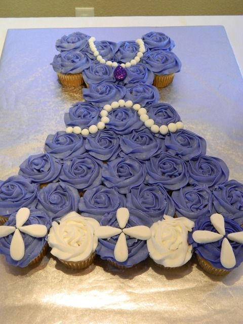 Sofia the First Dessert Party... Could do with any Disney princess dress!