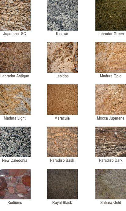 fashion point grainite name and samples granite