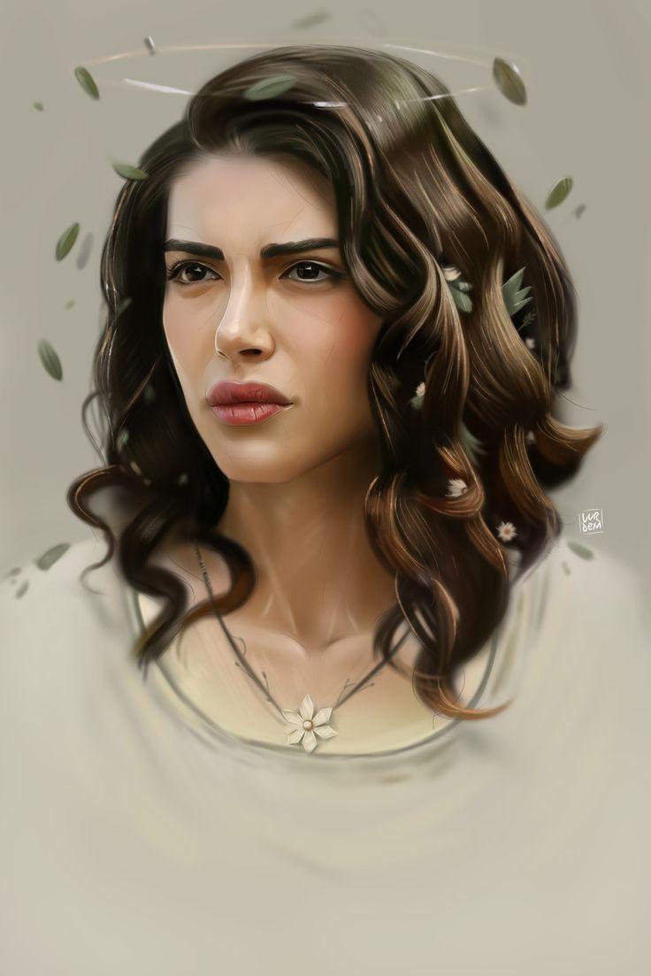 Deniz Baysal - Daisy, Yaşar VURDEM on ArtStation at https://www.artstation.com/artwork/xeyar