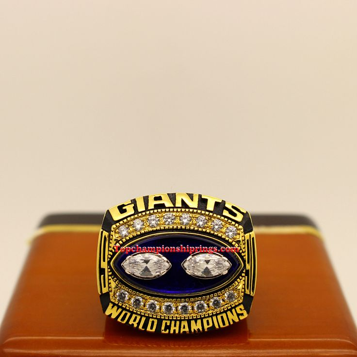 1990 New York giants NFL Super Bowl XXV Championship Ring
