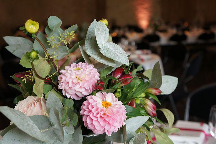 Mariage Romantique Floral - Design et Papeterie Dessine-moi une etoile - Fleurs Aude Rose