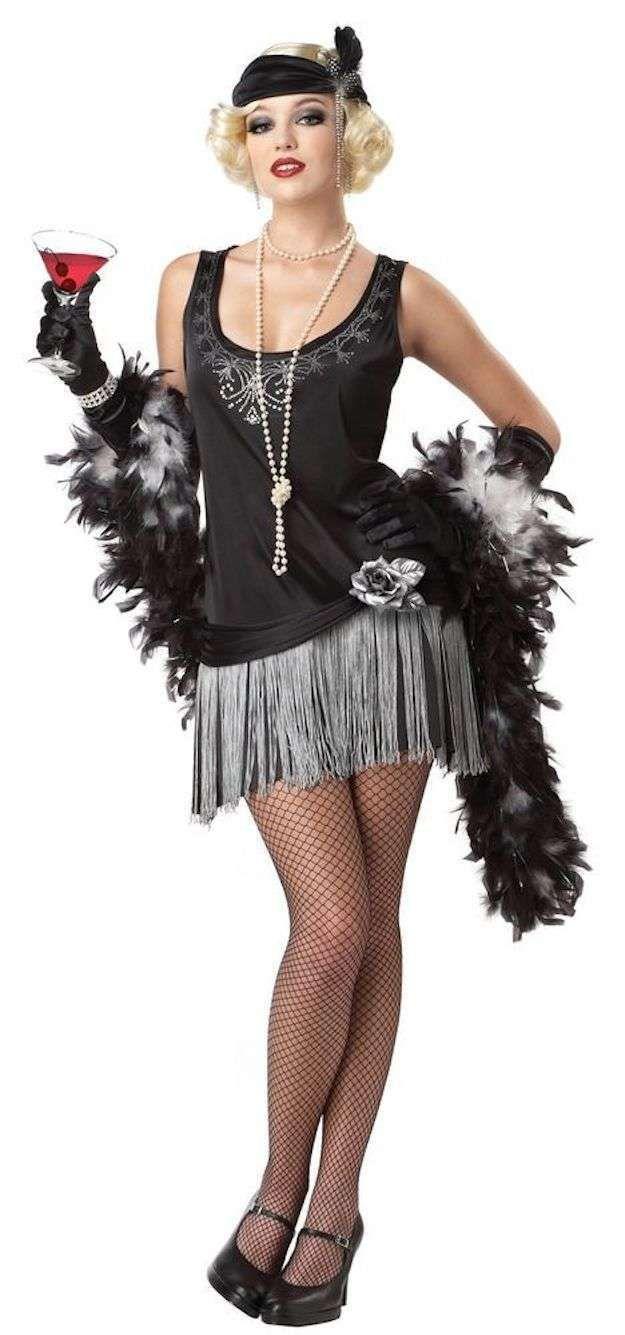 Halloween, los disfraces más fashion: fotos de los looks - Disfraz Halloween años 20