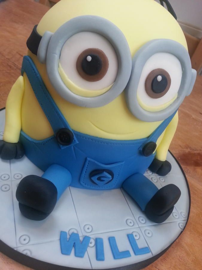15 best Minion Bob birthday cakes images on Pinterest Minion party