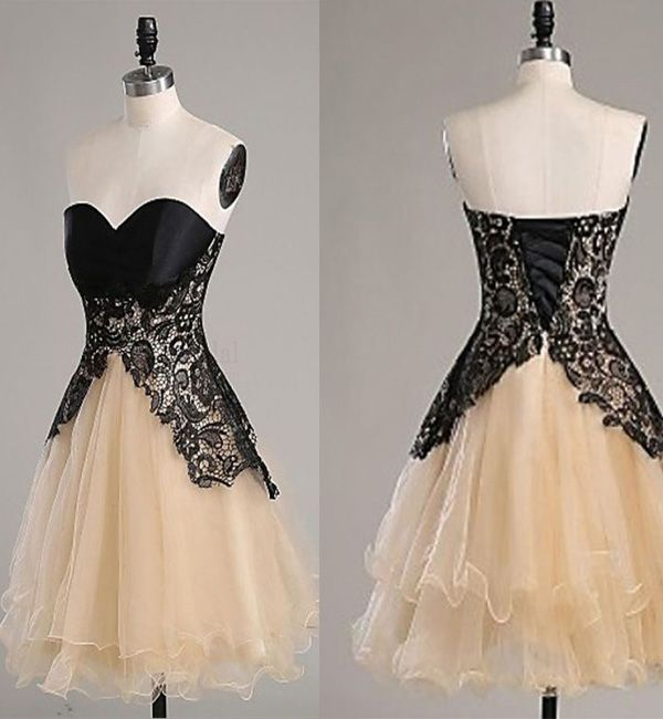 Homecoming Dresses,Champagne Homecoming Dresses, Sweetheart Homecoming Dresses, Vantage Homecoming Dresses, Short Prom Dresses,Short Graduation Dresses