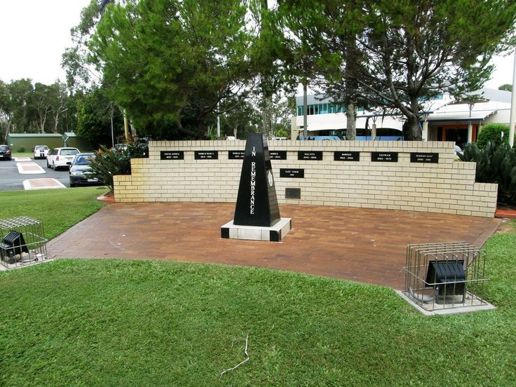 Bribie Island RSL and Citizens Club Memorial. Source: Michelle Smith. Curator, Redcliffe Museum