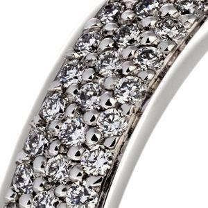 Masterwork Halo Diamond Band Engagement Ring – In 18kt White Gold – (0.75 CTW)