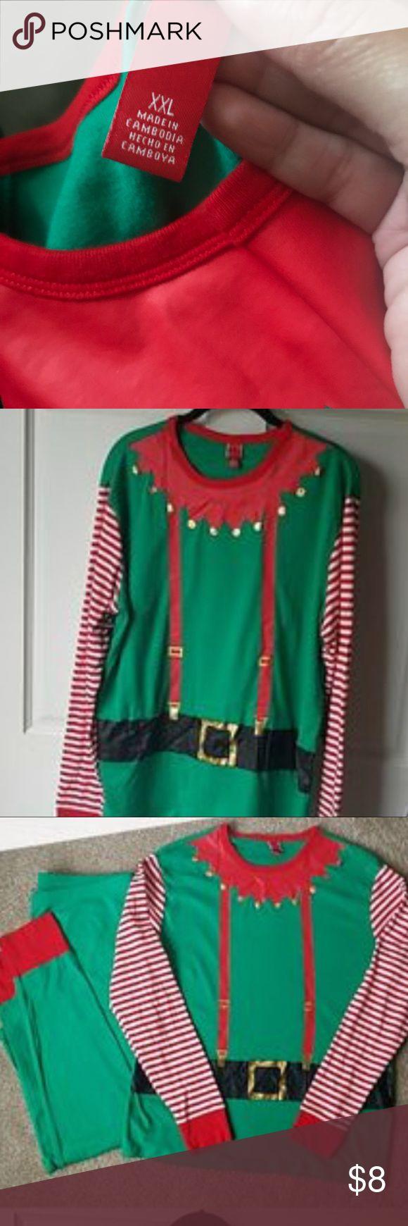 Target Elf pajamas Cute, plus size Xmas Elf style pajamas Other