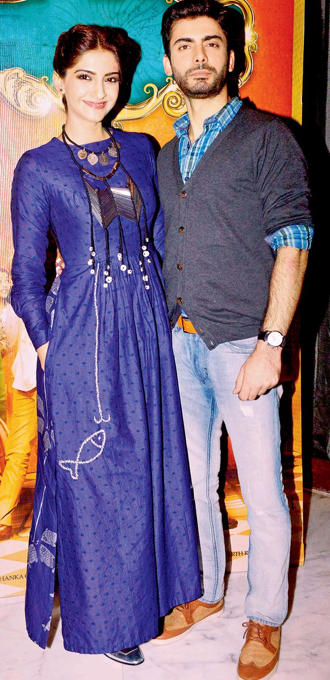 Spotted: Sonam Kapoor and Fawad Khan