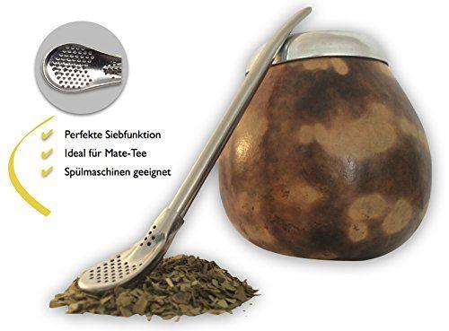FYI: ClassicLounge® Original TRINK TUBE BOMBILLA MATE-Tee et Matcha pour KALEBASSE ou TEE Verre – THÉ-BIEN-ENCORE + BOÎTE-CADEAUASSE ou…