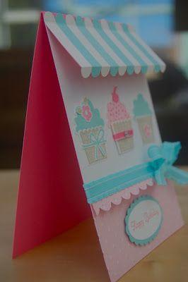 Julie's Japes - A Top UK Independent Stampin' Up! Demonstrator : Cupcake Crazy Part 1