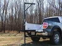 Redneck Blinds Bumper Hitch Deer Hoist