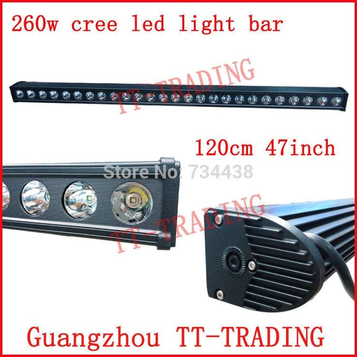 337.25$  Buy here - http://alibt3.worldwells.pw/go.php?t=32319371218 - 47'' 260w led off road light bar 47inch CREE led spot beam for truck 4X4 SUV ATV TRACTOR DC10V-30V vehicle WORKING LIGHT