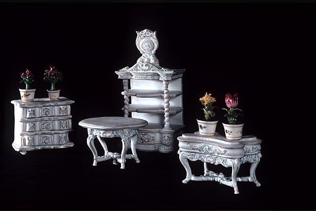 Zámek Hluboká,nábytek pro panenky   Zámek Hluboká,sbírky