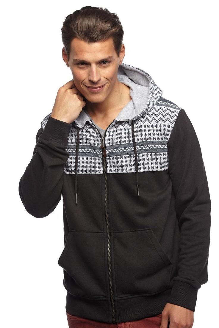 yardage zip hood | Cotton On