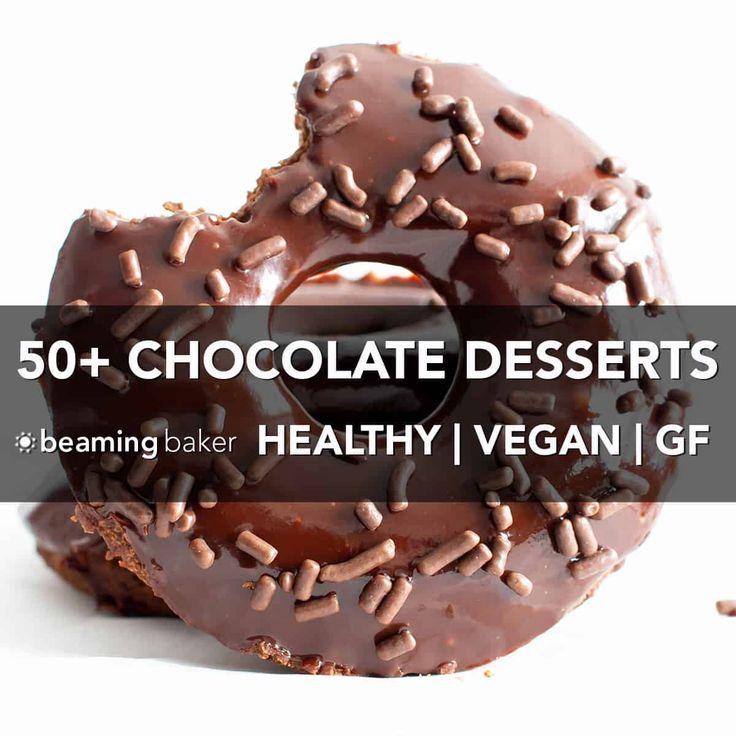 50 Easy Healthy Chocolate Desserts Best Gluten Free Vegan