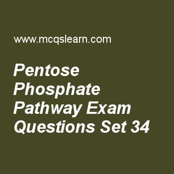 Practice test on pentose phosphate pathway, MCAT quiz 34 online. Practice pentose phosphate pathway test with answers. Practice online quiz to test knowledge on, pentose phosphate pathway, dna denaturation, reannealing and hybridization, ketone bodies, amino acids as dipolar ions, structure of proteins worksheets. Free pentose phosphate pathway test has multiple choice questions as primary role of pentose phosphate pathway is, answers key with choices as catabolic, anabolic, both a and b...