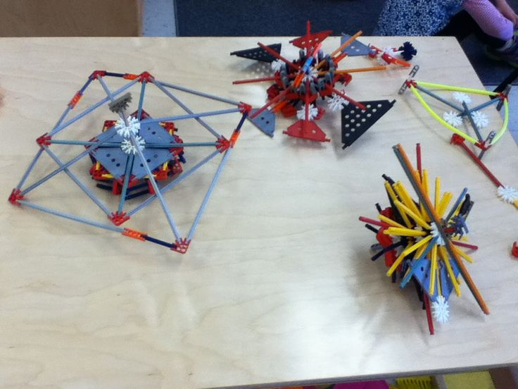 Knex spintops designed and made by my Senior Kindergarten students ...