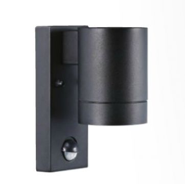 Modern Outdoor Downlighter with PIR Motion Sensor ID Large View