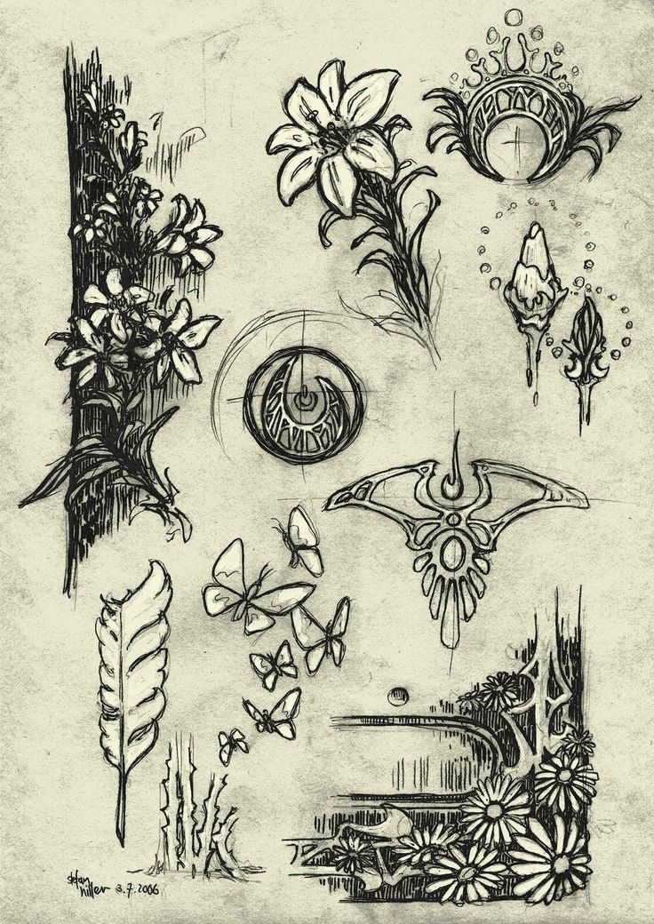 Art Nouveau Tattoo Design By Tegan Ray: 34 Best Tattoos That I Love Images On Pinterest