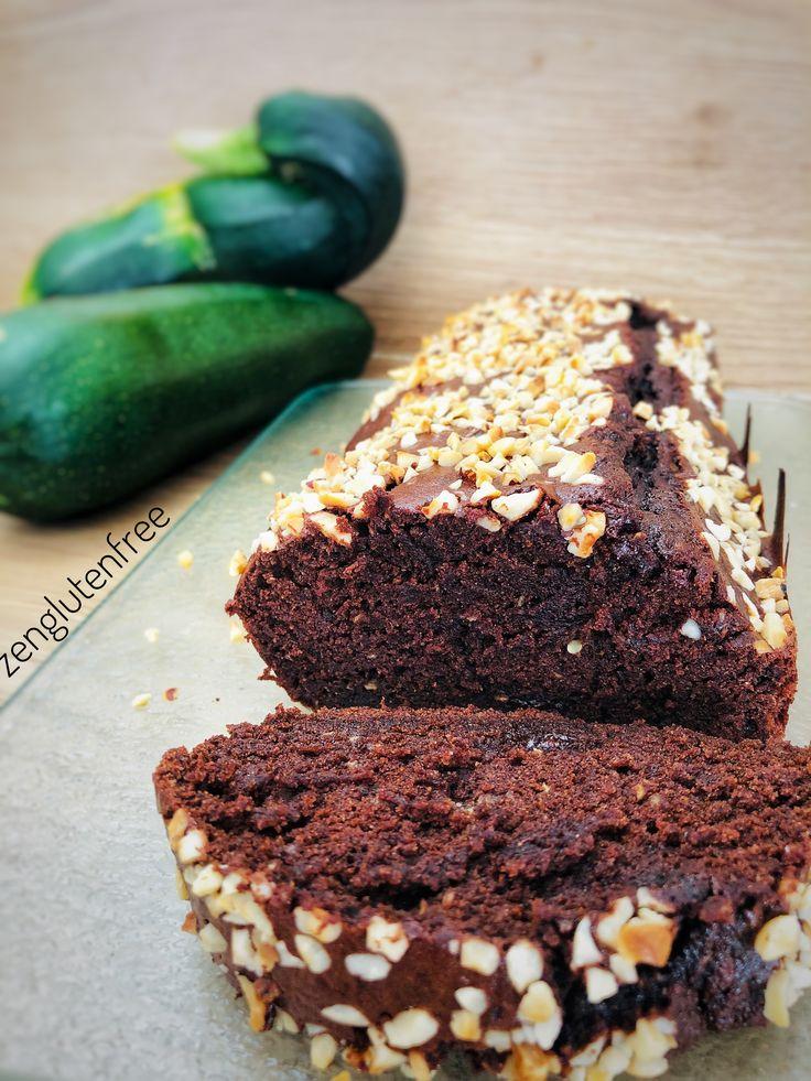 Gâteau chocolat courgette sans gluten