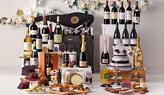 Harrods presents The Opulence hamper for Christmas 2012  £10000