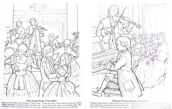 vivaldi coloring pages - photo#27