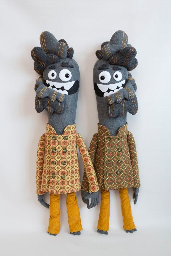 felt puppets by The Felt Mistress