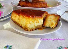 Cocina Sin Problemas: Bizco-flan de manzana.