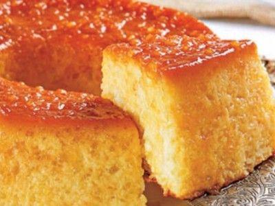 Torta Pudim de Tapioca