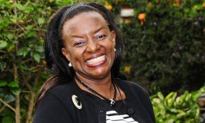 Jennifer Riria est la fondatrice de Kenya Women Holding (KWH), une société bancaire privée qui octroie des micro-crédits et des assurances aux femmes kényanes  souhaitant lancer leur entreprise ou développer leur activité économique.
