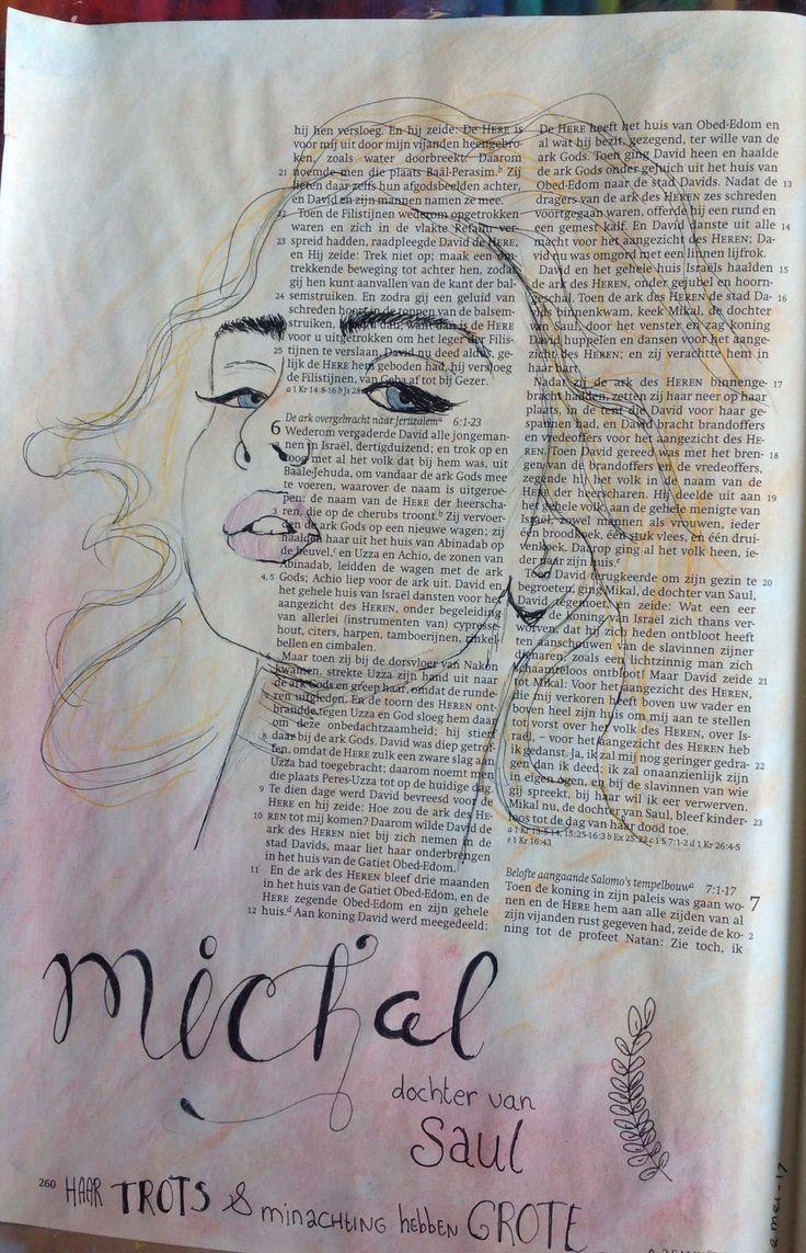 #woordvrouw challenge dag 2 Michal dochter van Saul   2 Sam 6. C vd Berg Gouda