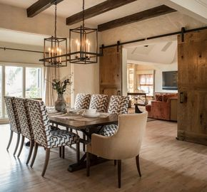 The use of earth tones and organic materials make for a beautifully composed space pulled off by Cynthia Spence Design.