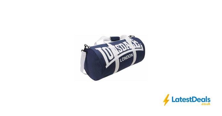 Lonsdale Barrel Bag [Navy/White], £6.99 at Amazon UK