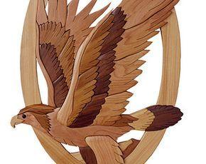 Intarsia Woodworking PATTERN DEER HEAD by GielishWoodSculpture