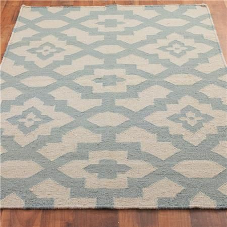 Bohemian Market Dhurrie Rug: 2 Colors - Shades of Light