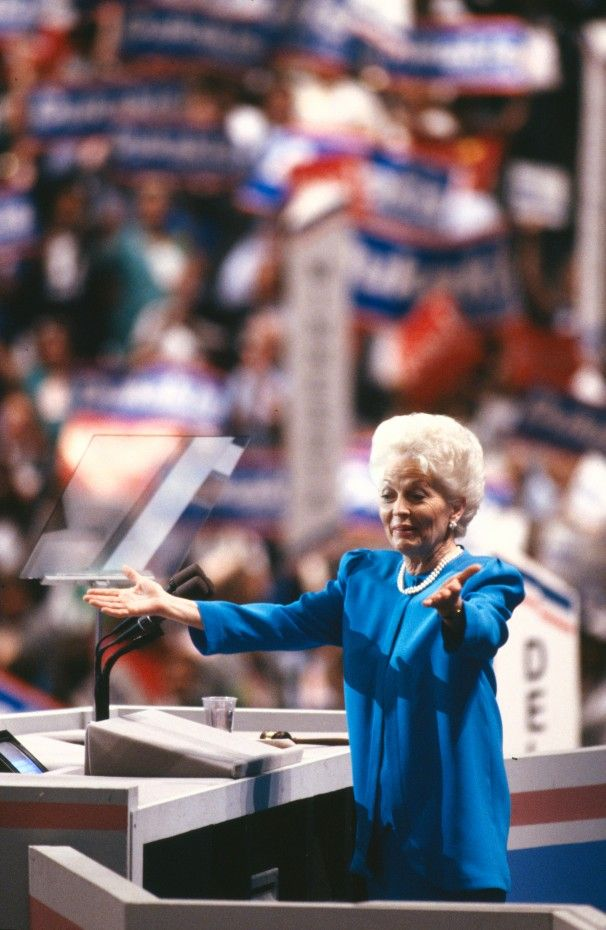 1988 Democratic National Convention | Ann Richards delivers her famous keynote address at the 1988 National ...
