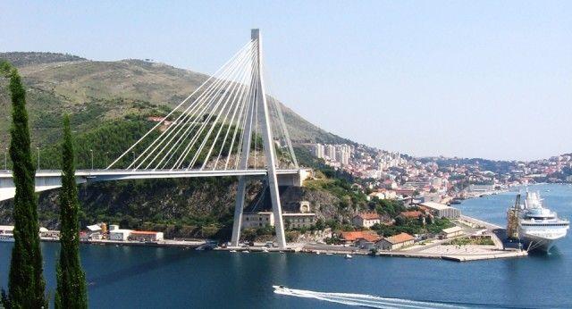Nice bridge in Dubrovnik - Croatia