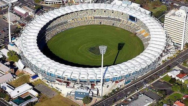 Gabba cricket grounds- just a street or 2 away from Mowbray East Brisbane apartments