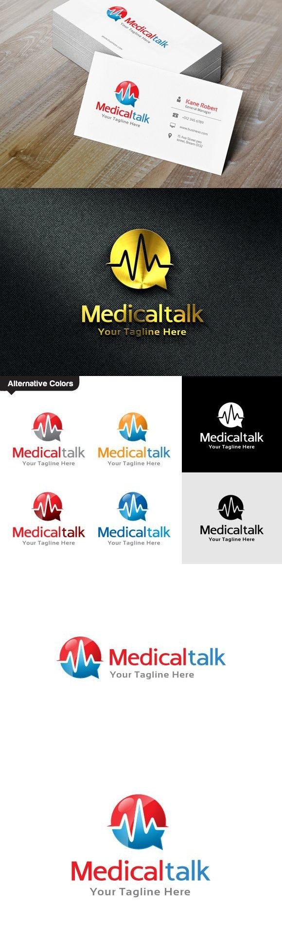 Medical Consulting Logo in 2020 Consulting logo, Clinic