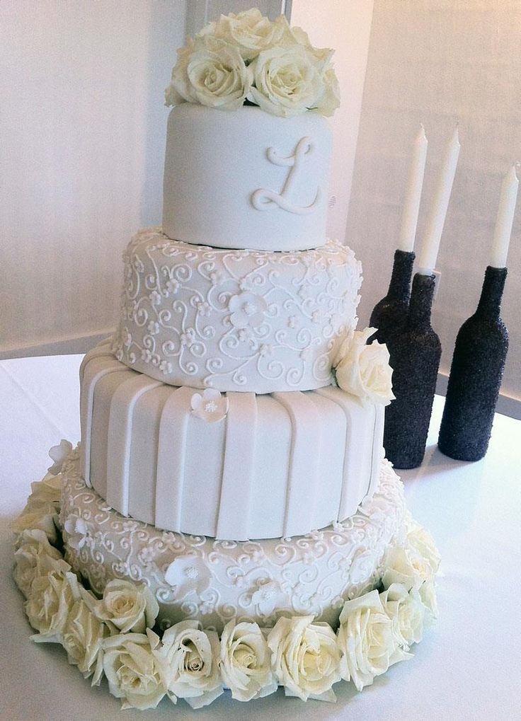 20 Gorgeous Wedding Cakes