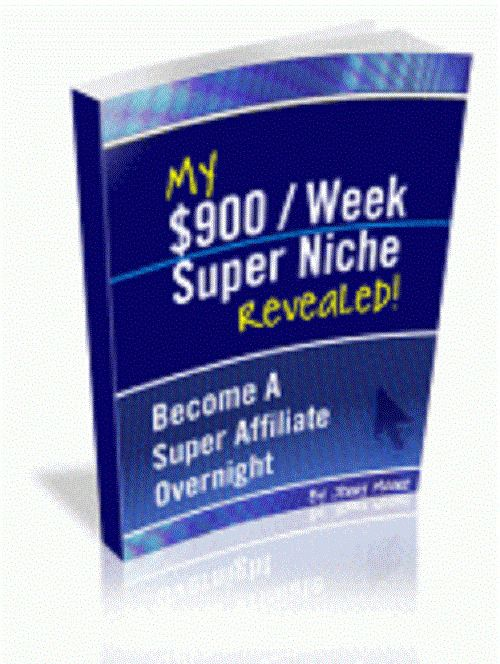 My $ 900 Per Week Super Niche Master Resell Rights Free International Shipping