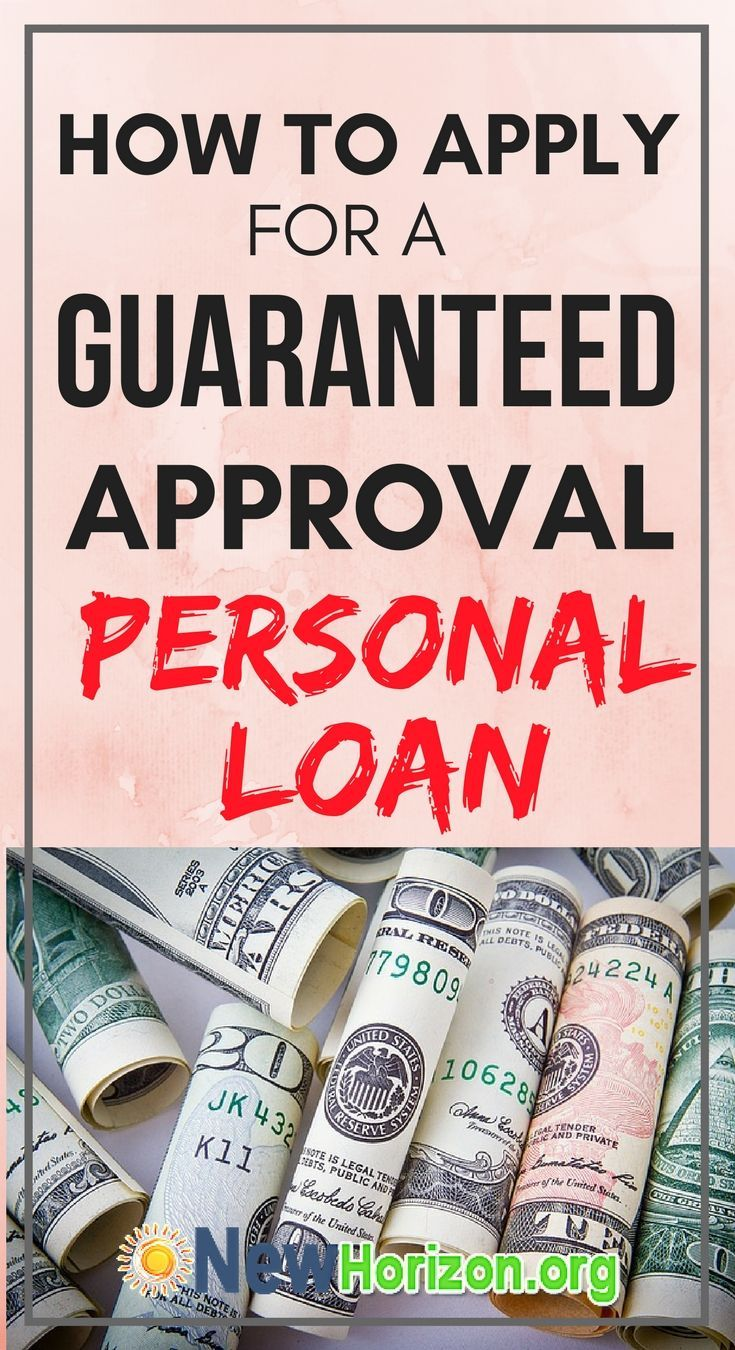 A Closer Look At Personal Loans With Guaranteed Approval Personal Loans Bad Credit Personal Loans Loans For Poor Credit