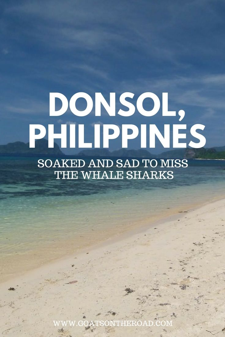 Donsol - Soaked & Sad To Miss The Whale Sharks  The Philippines | SE Asia | Southern Asia | Donsol
