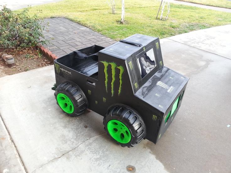 Kindergarten Box Car Monster Truck