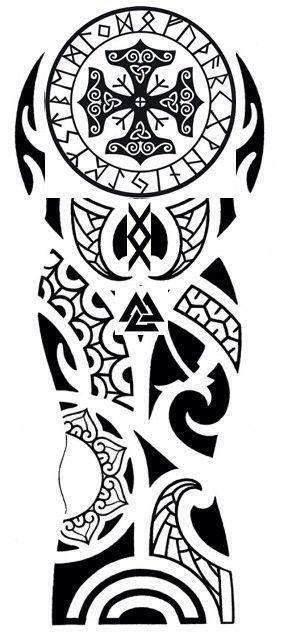 Znalezione obrazy dla zapytania nordic tattoo