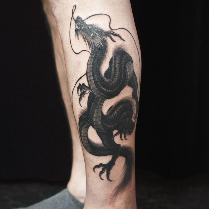 сочетать картинки татуировок драконов на ноге проходной двигаетесь
