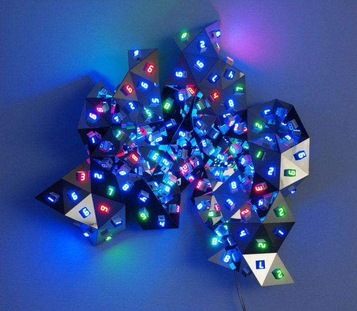 """Designed by Japanese artist Tatsuo Miyajima, """"Diamond in You"""" relates to the concept of """"kongochi,"""" the highest enlightenment in Buddhism."""
